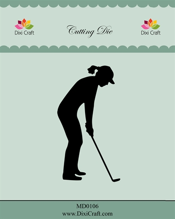 Dixi Craft - Die - Female Golf Player